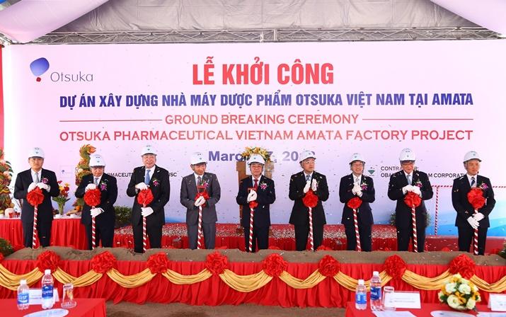 Khoi cong nha may Amata